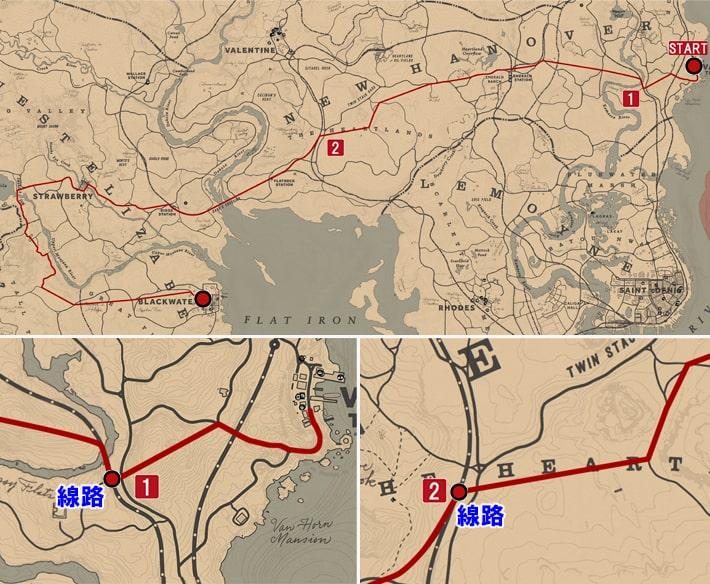 馬術師9の攻略マップ