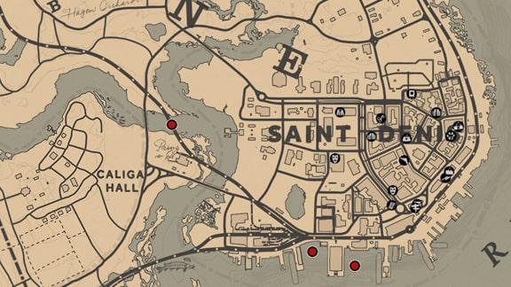 サバイバリスト5の達成場所のマップ