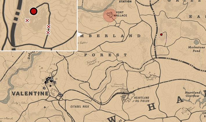 ケロニアン・マスターの居場所マップ
