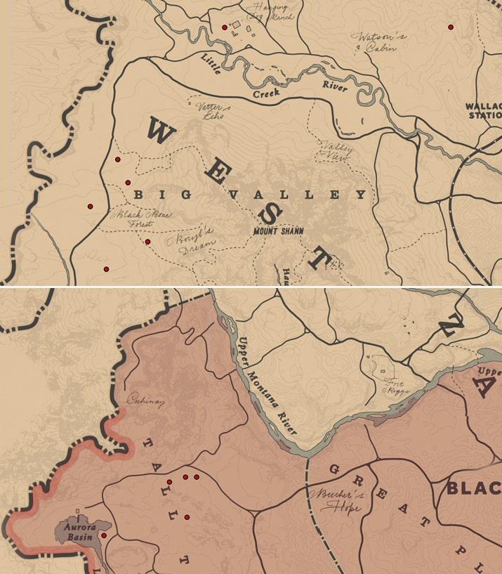 レディースリッパ(ラン科)の入手場所のマップ