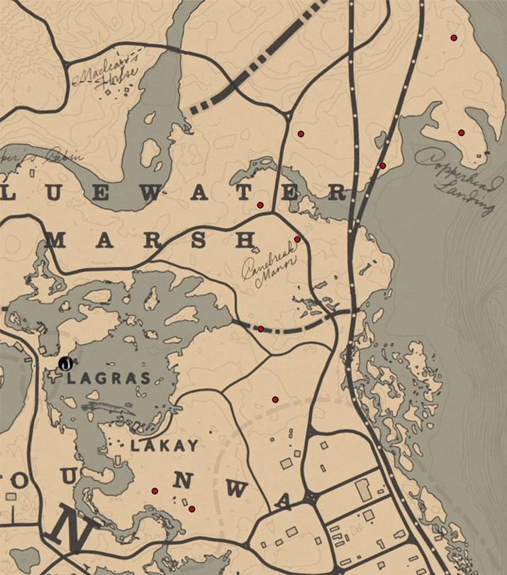 シガー(ラン科)の入手場所のマップ