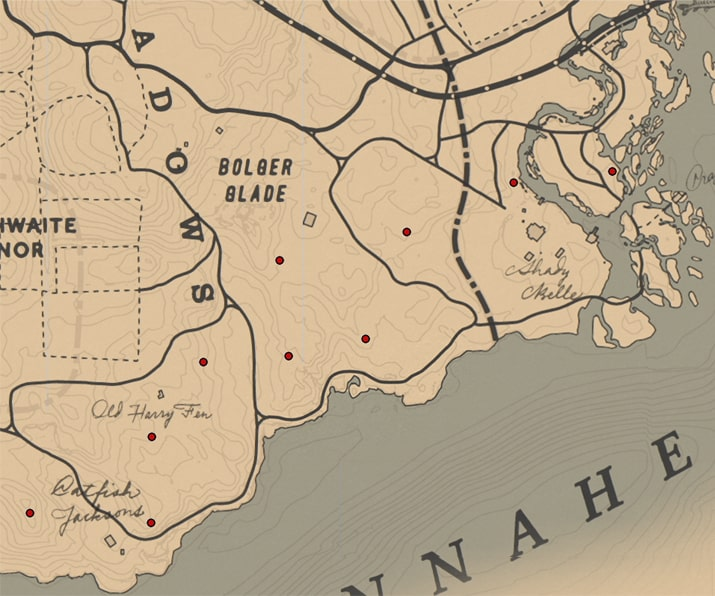ナイトセント(ラン科)の入手場所のマップ