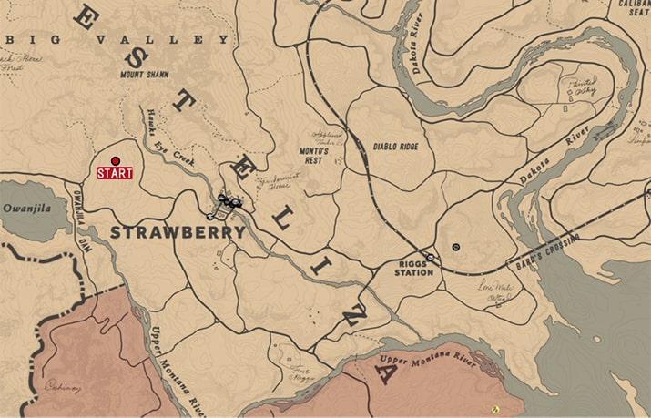 地質学入門の発生場所のマップ