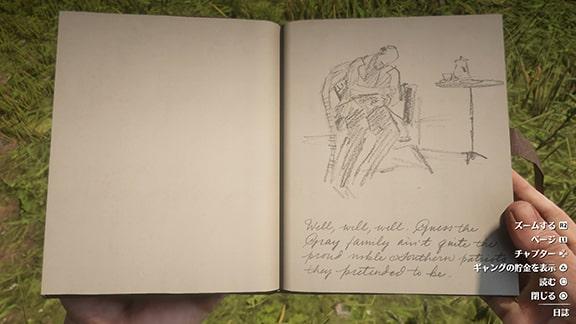 グレイ家の秘密に関する日誌