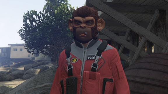 GTAオンラインのマスクキャラ画像