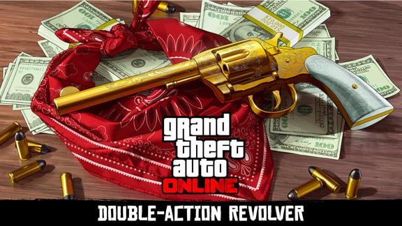 GTAオンラインのダブルアクションリボルバーの画像