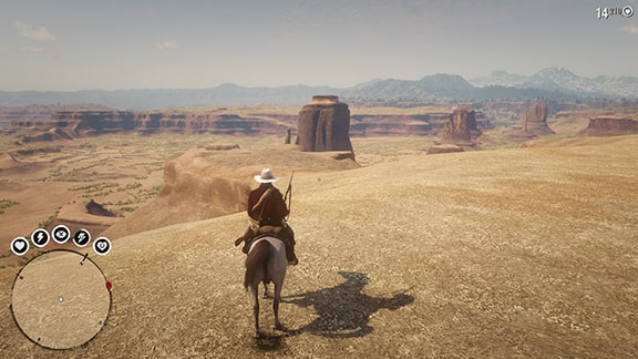 rdr2メキシコの風景