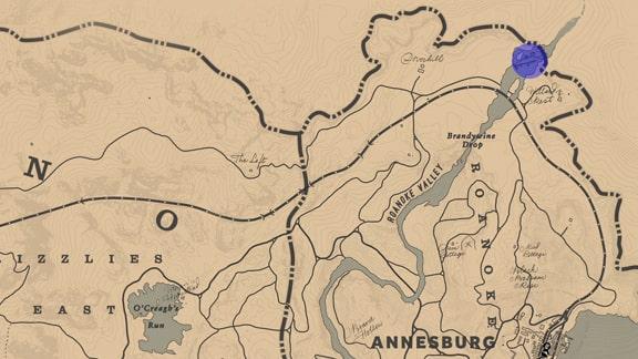 釣り場マップ