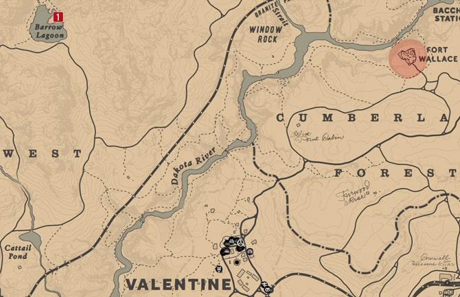 ハイリスクな宝の地図2の場所マップ