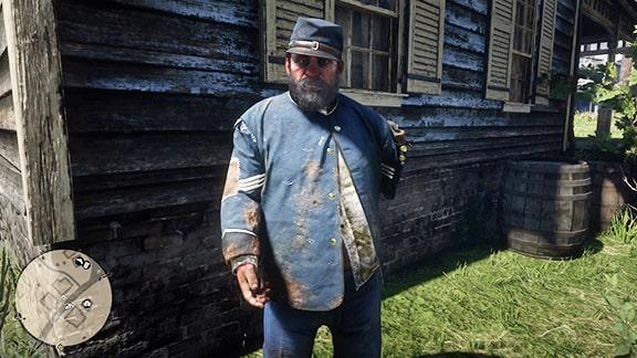 宿なしの退役軍人ミッキー
