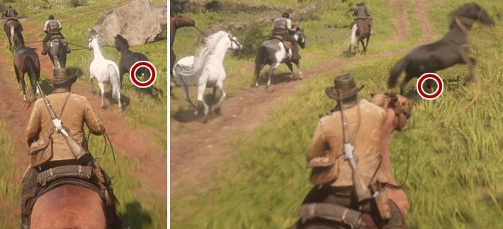 馬を即捕獲するメダル獲得の解説画像