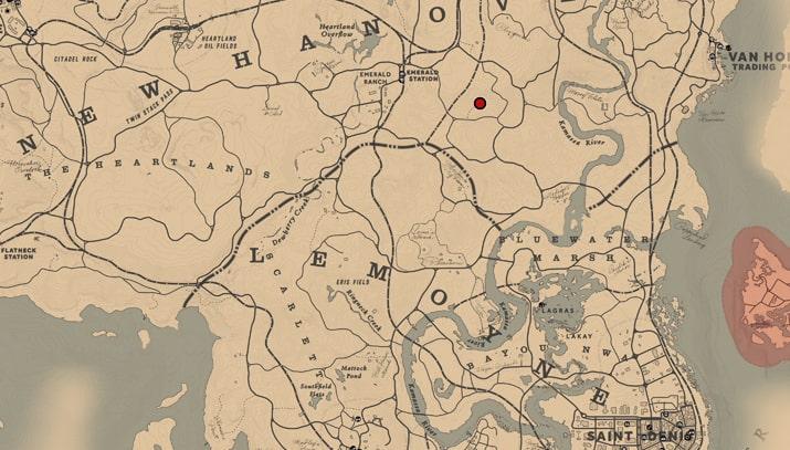 メアリーベスの万年筆の入手場所のマップ