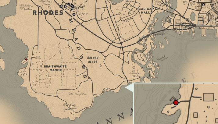 ピアソンの海軍の方位磁石の入手場所のマップ
