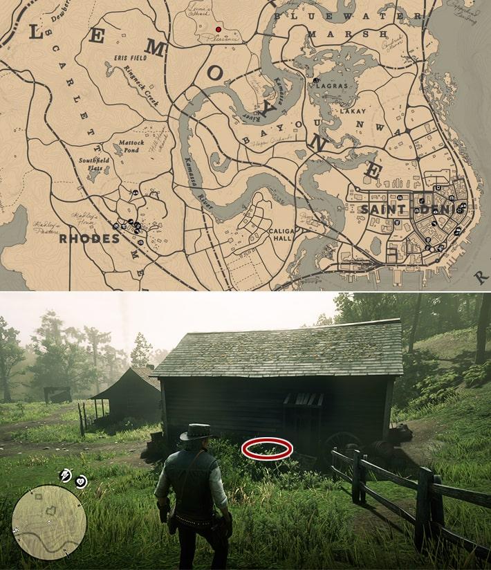 リリアン・パウェルのシガレットカードの入手場所マップ