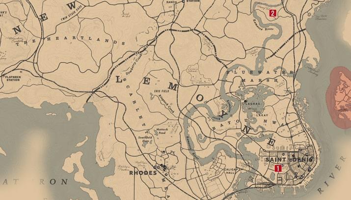 リンジー・ウォフォードの攻略チャートマップ