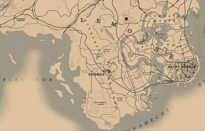 Aberdeen Pig Farmのマップ