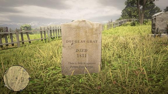 ダグラス・グレイの墓
