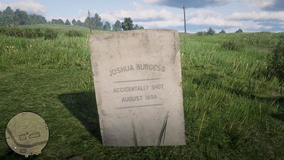 ジョシュアの墓の画像