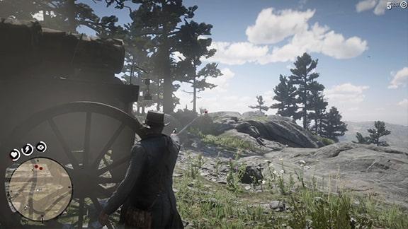 ウェザーズの取り立ての際の銃撃戦の様子