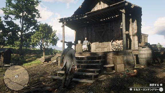 ミセス・ロンドンデリーの家