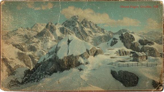 ハーゲン山の風景画像