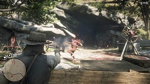 マーフリー・ブルードと戦っている画像