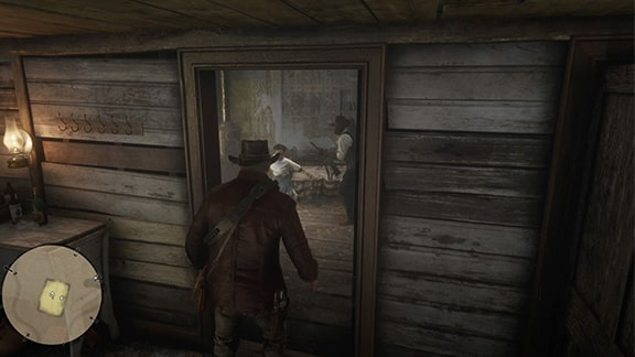 ティリーが捕まっている部屋
