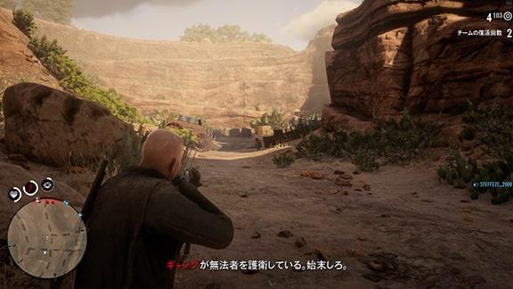 パイク盆地での銃撃戦