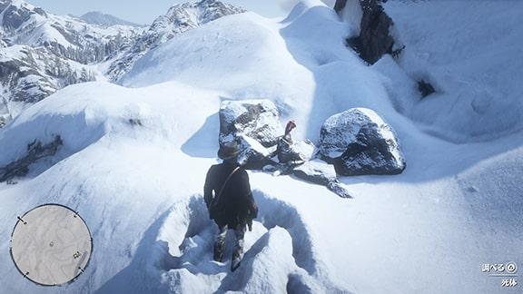 開拓者の凍死体の注目ポイント
