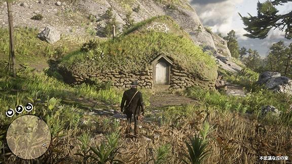 不思議な丘の家の注目ポイント