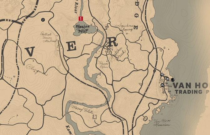 毒にまみれた道の地図3の場所マップ