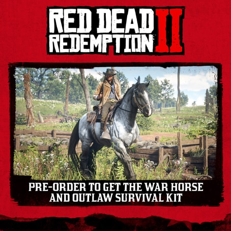 Red Dead Redemption2の予約特典の画像