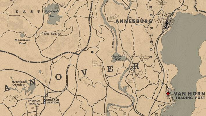 行方不明のイザボー・カタリナ王女のポスターの場所マップ