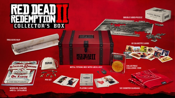 レッドデッドリデンプション2:コレクターズボックス