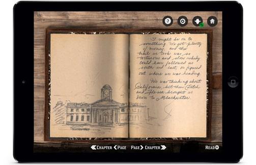 レッドデッドリデンプション2コンパニオンアプリのアーサー・モーガンの日記画像
