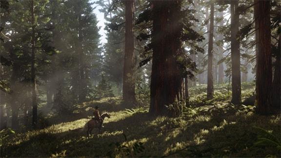 RDR2の大自然があふれる風景画像