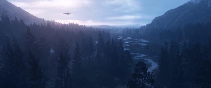 Red Dead Redemption2の風景画像