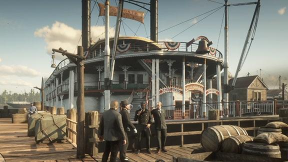 サンドニの船前の画像