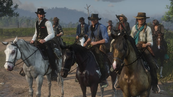 Red Dead Redemption2のダッチギャング団の画像