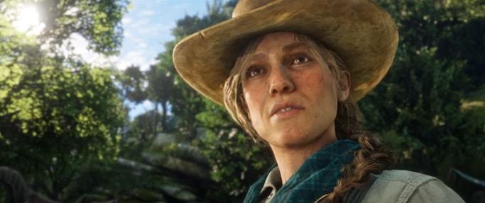 レッドデッドリデンプション2のカウボーイらしき女性の画像