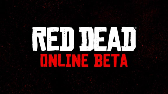 Red Dead Online Betaのロゴ画像