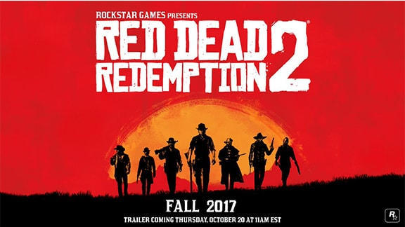 Red Dead Redemption2の正式発表画像