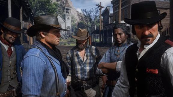 Red Dead Redemption2のダッチギャングの画像