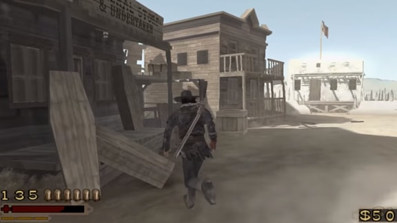 レッドデッドリボルバーのゲーム画像