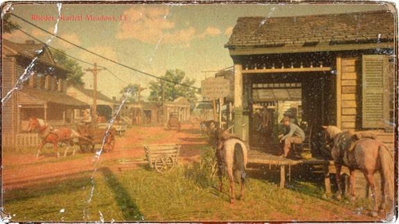 ローズの風景画像