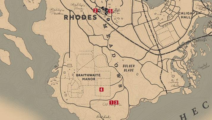 ロビー・レイドローの攻略チャートマップ