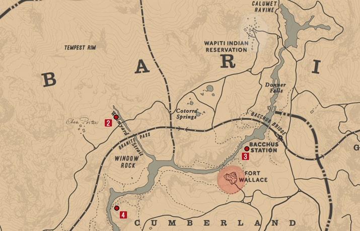 石刻の座標2の発見場所マップ