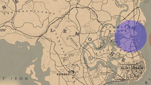 飛行中の鳥を居場所マップ