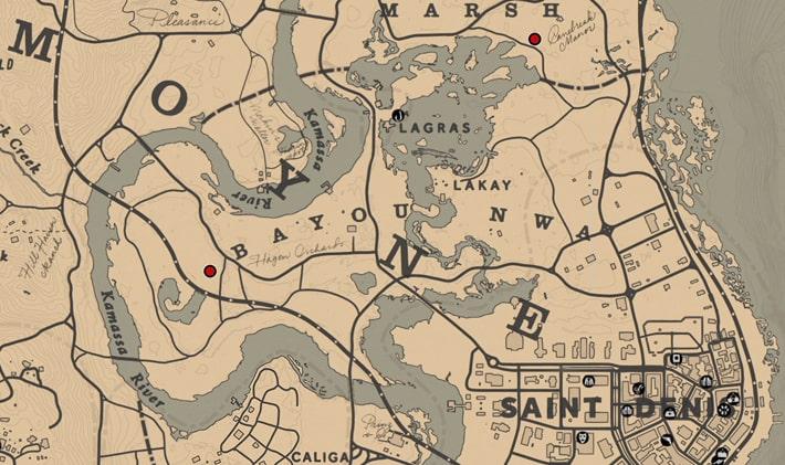 預言者の居場所マップ