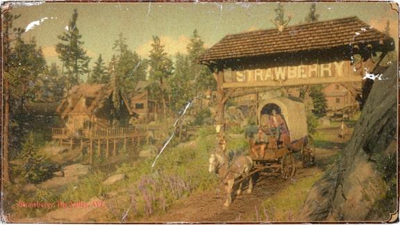 ストロベリーの風景画像